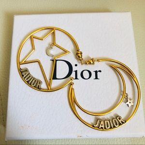 J' Adior earrings